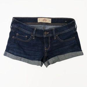 Hollister Short-Short Low Rise Jean Shorts 3 26W